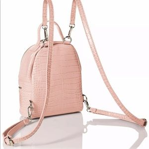 Steve Madden Gator Mini Convertible Backpack-BLUSH